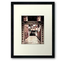 Chinatown - Georgetown Penang Framed Print