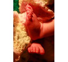 ten tiny toes Photographic Print