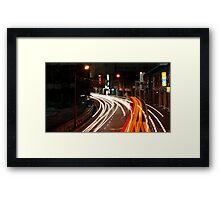 Georgetown Traffic - Penang Framed Print