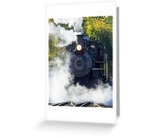 Fired Up Greeting Card