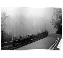 Blue Ridge Highway Poster