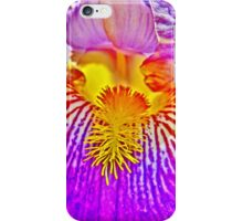 Flight of the Iris Bee, 3 of 4 iPhone Case/Skin