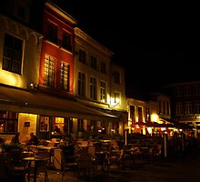 Dinner in Brugge by Béla Török