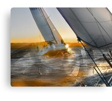 THE GOLDEN TURN Canvas Print