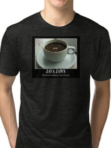 Java Jaws Tri-blend T-Shirt