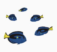 Fish: Regal Tangs Kids Tee