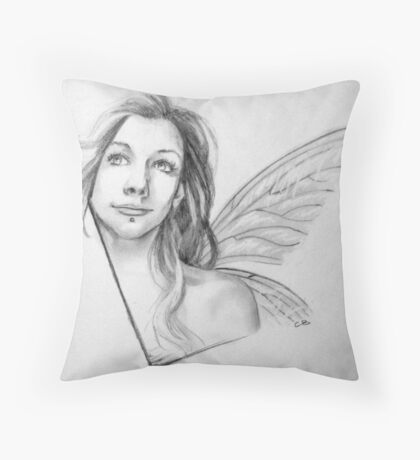 amy-lee fae Throw Pillow