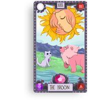 Steven Universe Tarot- The Moon Canvas Print