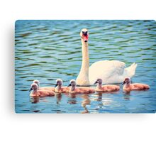 First Lessons Canvas Print