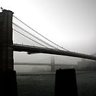 Brooklyn bridge - New York by Julien Delebecque