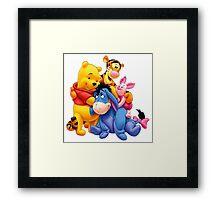 Winnie the Pooh Framed Print