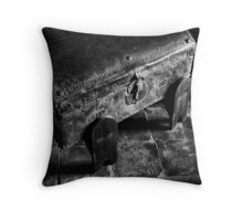 Old Mission Trunk Throw Pillow