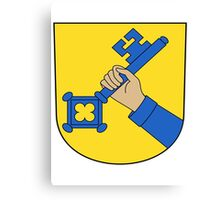 Swiss coat of arms Canvas Print