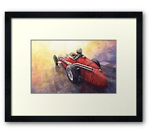 Light Racing Maserati 250 F Framed Print
