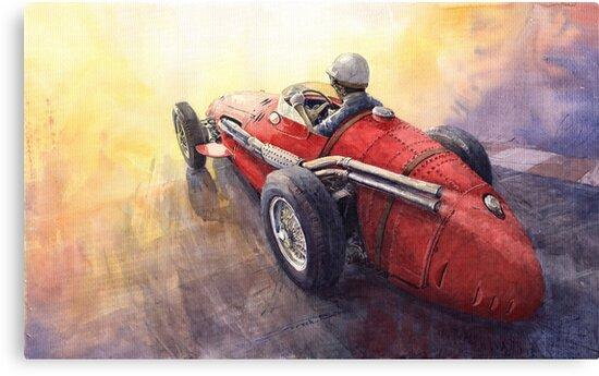 Light Racing Maserati 250 F by Yuriy Shevchuk