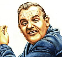 Ronnie Barker plays Fletch by Margaret Sanderson