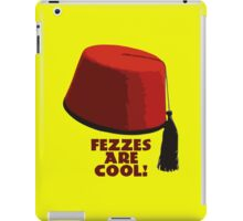 Fezzes are cool! iPad Case/Skin