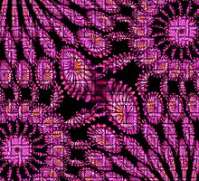 Magenta abstract by Dipali S