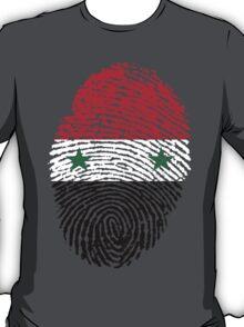 Syrian flag - fingerprint T-Shirt