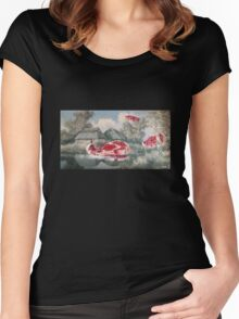 Meat Migration Women's Fitted Scoop T-Shirt