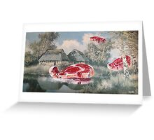 Meat Migration Greeting Card