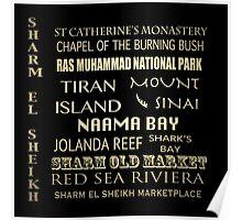 Sharm el Sheik Famous Landmarks Poster