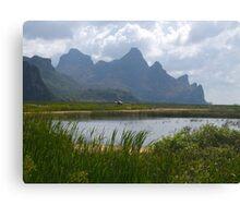 Mountainscape, Hua Hin, Thailand Canvas Print