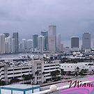 Skyline of Miami by Memaa