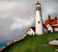 Light House Bay by Cathy Amendola