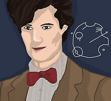 Eleventh Doctor by TesniJade