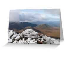 Autumn Day in the Highlands Greeting Card