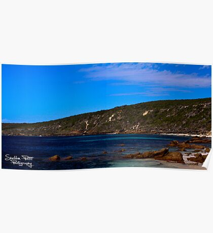 Canal Rocks Poster