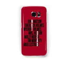 Not Dead Samsung Galaxy Case/Skin
