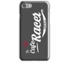The cafe racer garage iPhone Case/Skin