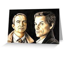 Law and Order UK Greeting Card
