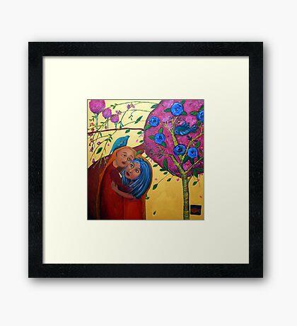 Garden Love Framed Print