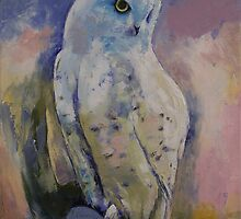 Snowy Owl by Michael Creese