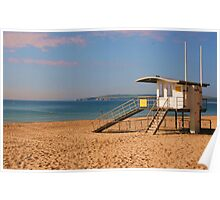Branksome Life Guard Station Poster