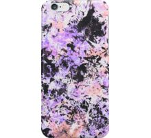 Lilac Ink Texture iPhone Case/Skin