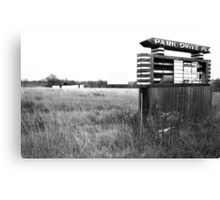 Remembering Park Drive-In Canvas Print