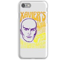 Xavier's School for Gifted Youngsters iPhone Case/Skin