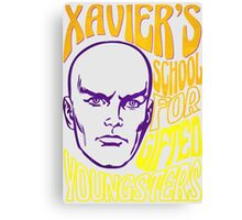 Xavier's School for Gifted Youngsters Canvas Print