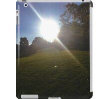 Soccer Field Sunset iPad Case/Skin