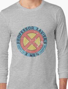 Distressed X-Men Logo Long Sleeve T-Shirt