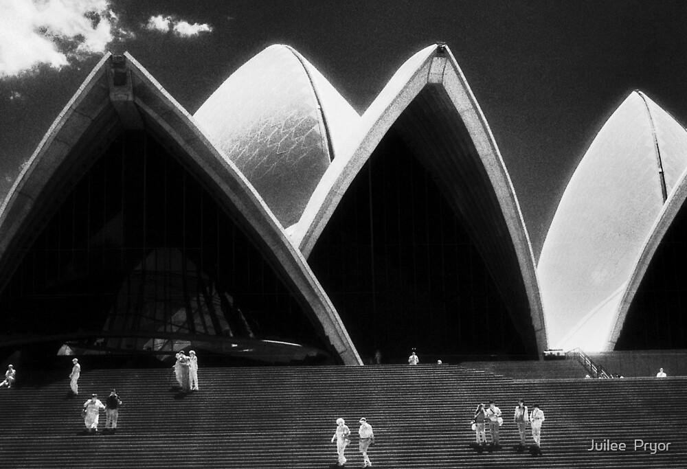 Opera House steps again by Juilee  Pryor