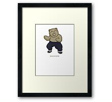 BEARS and FIGHTERS - FeiLong Framed Print