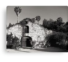 Hidden Chateau Canvas Print