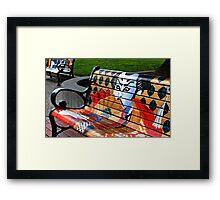 Art and Community Framed Print