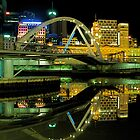 Still #2 - Yarra River,Melbourne,Australia by Max R Daely