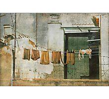 vintage wash Photographic Print